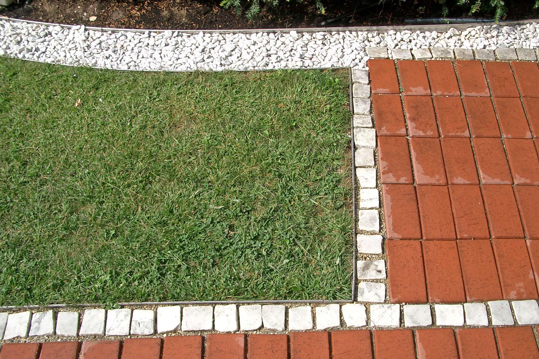 terrasse begrenzung & umrandung mit gartenprofil 3000 von terra-s
